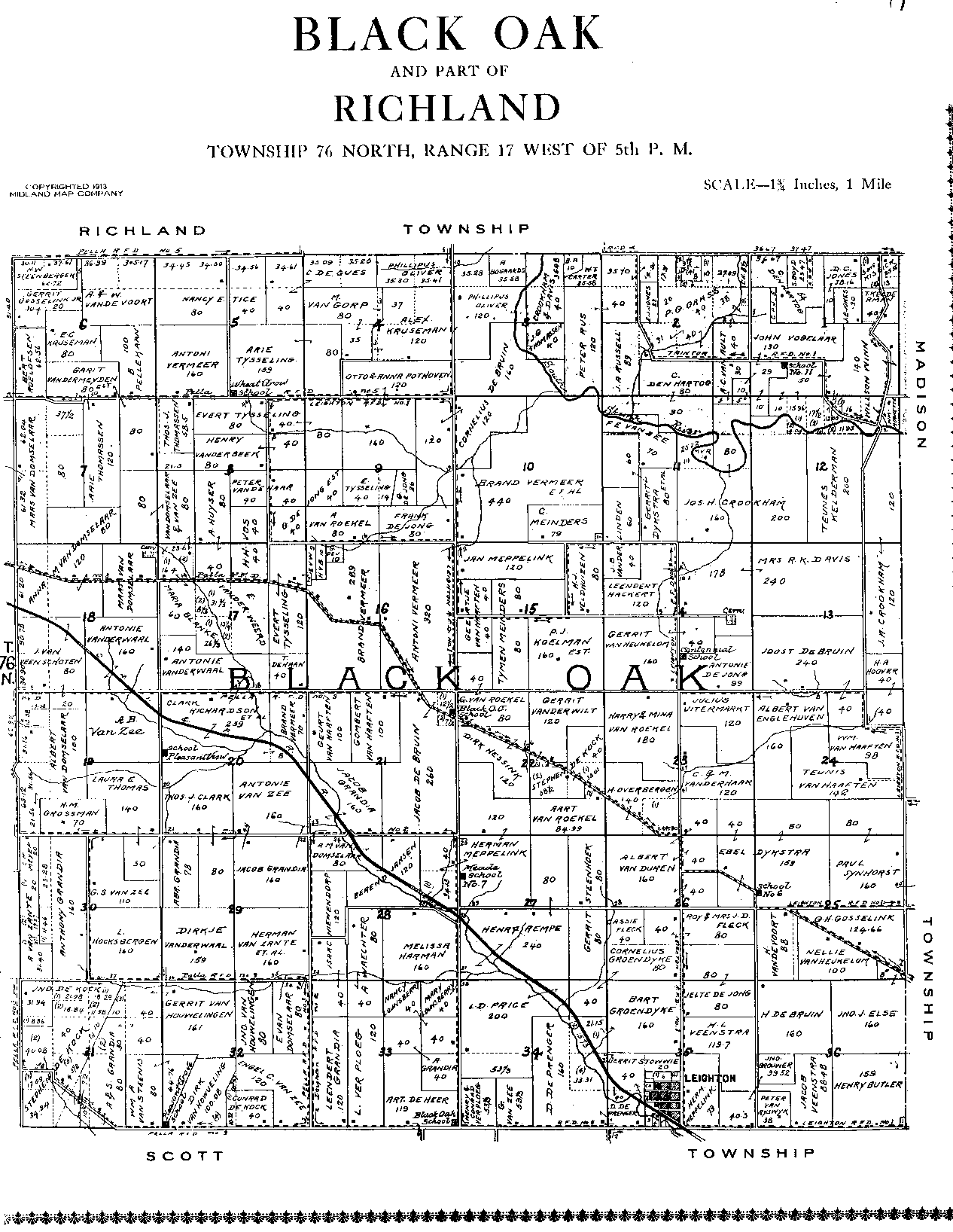 black singles in mahaska county Listed as a post office in mahaska county from 1884 to 1887, but the location not found hopewell  a post office (1857-65) in the eastern part of black oak township.